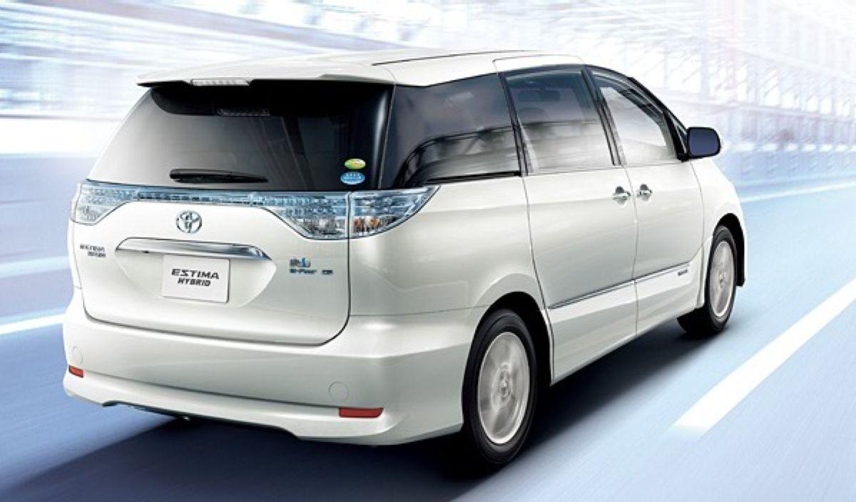 Toyota Estima Hybrid 10. Обучение вариатора