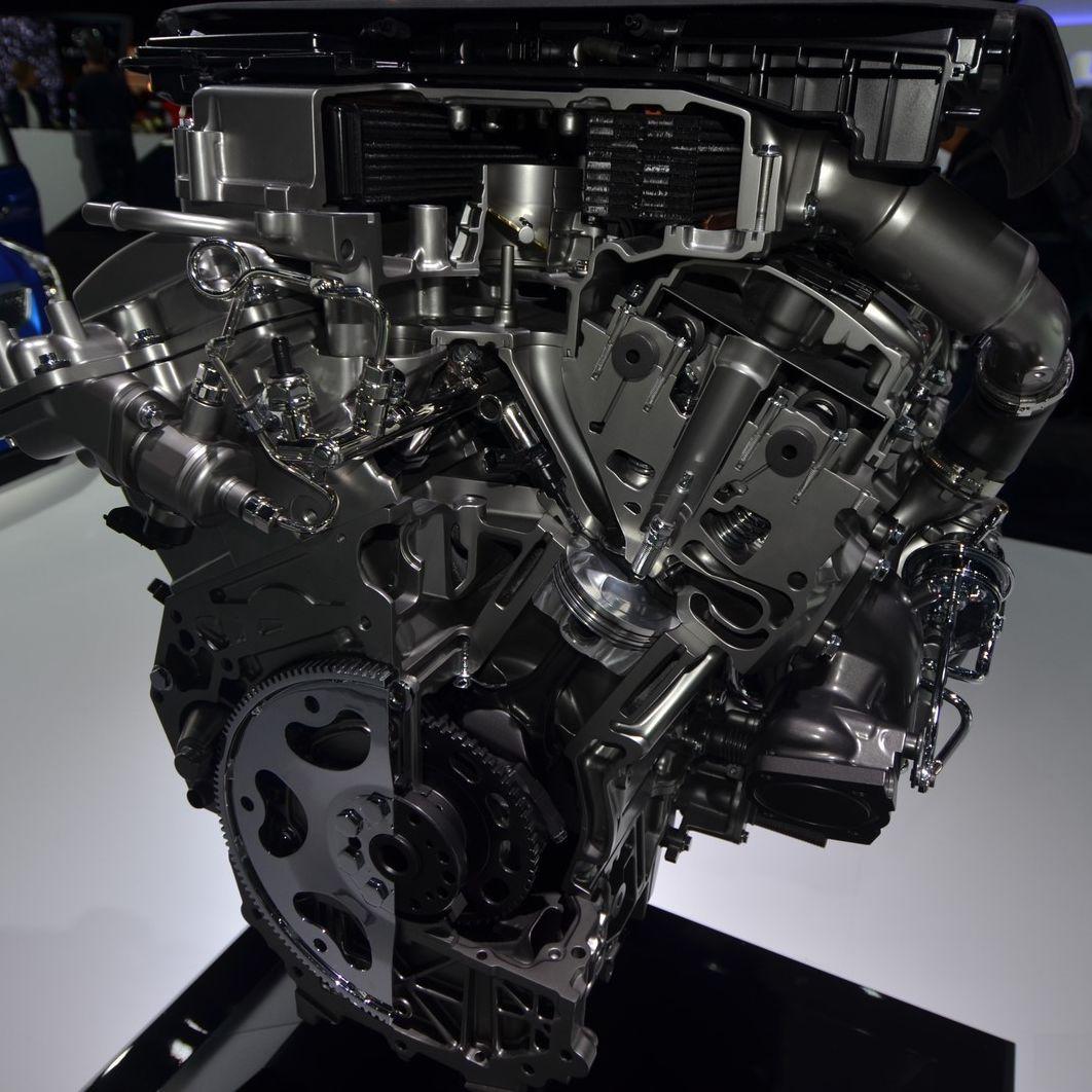 Cadillac (Кадилак) LF4: фото двигателя