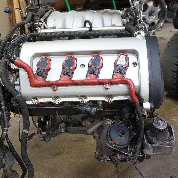 Audi (Ауди) BFM: фото двигателя