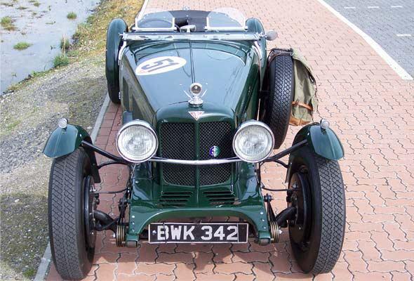 Alvis (Элвис карс) SE Le Mans Special, 1936: фото автомобиля