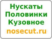 Nosecut.ru - кузовное, нускаты, половинки